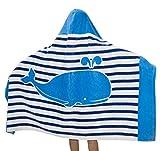 Comfysail 100% Baumwolle Kinder Kapuzen Poncho Handtuch Bade Badetuch für Jungen und Mädchen von 2-7 Jahren Strand 76...