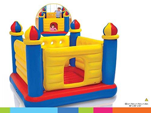 Intex Jump-O-Lene Castle Bouncer - Aufblasbare Hüpfburg  - 175 x 175 x 135 cm