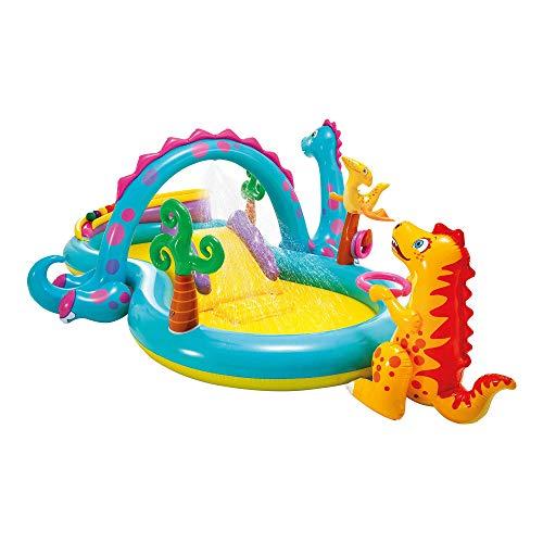 Intex Dinoland Play Center - Kinder Aufstellpool - Planschbecken - 333 x 229 x...
