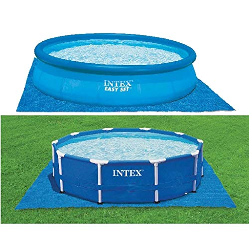 Intex Pool Ground Cloth - Pool Bodenplane - 4,72 m² - Für Easy Set und Frame Pools von 244 - 457 cm