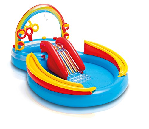 Intex Rainbow Ring Play Center - Kinder Aufstellpool - Planschbecken - 297 x 193...