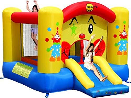 Happy Hop HappyHop 9201. Castillo Hinchable: Clown Slide and Hoop Bouncer.
