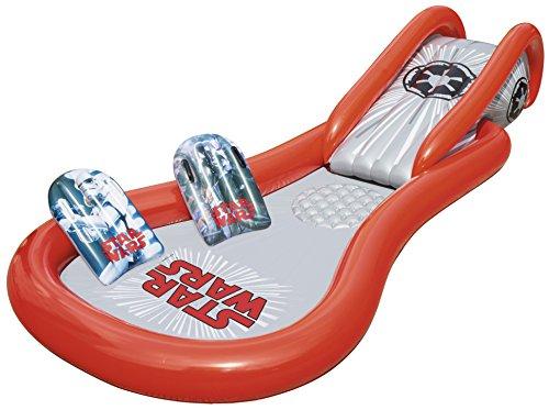 Bestway Star Wars Pool mit Wasserrutsche, Space Slide, ab 2 Jahren, 381 x 175 x...