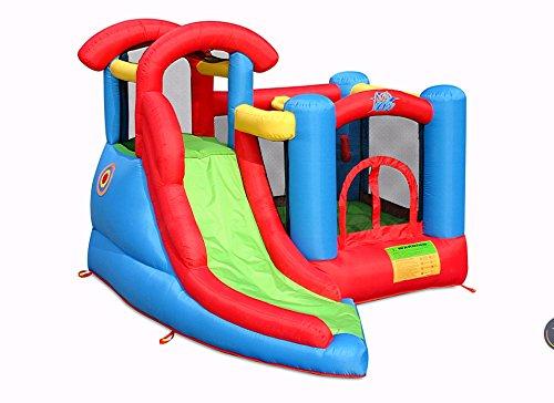 Action Air 9371A Kinderspielplatz, aufblasbar, 6 in 1