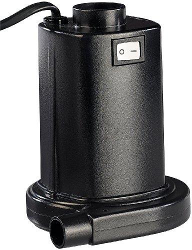 infactory Elektrische Pumpe: Elektrische Luftpumpe für schnelles Auf- & Abpumpen, 230 Volt (Luftpumpe Luftmatratze)