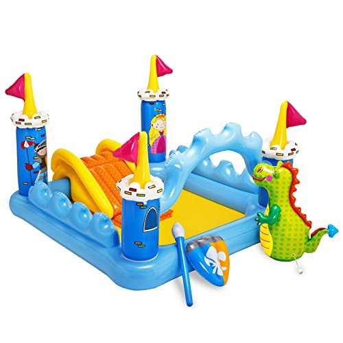 Intex Fantasy Castle Play Center - Kinder Aufstellpool - Planschbecken - Schloss...