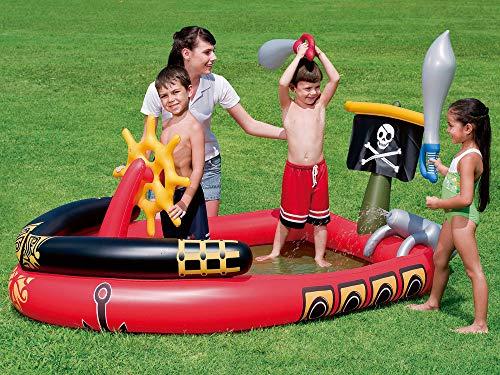 Bestway Wasserspielcenter Piratenschiff 190 x 140 x 96 cm