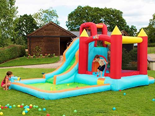 Bebop Wild Splash Gartenhüpfburg und Wasserrutsche für Kinder